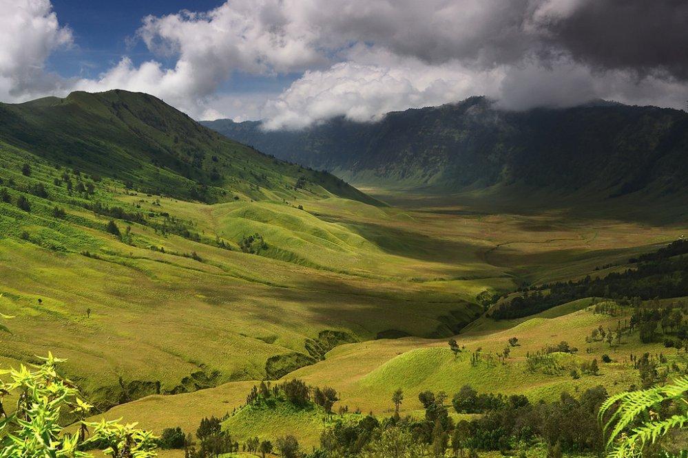 Prachtige vergezichten over de Teletubbie hills en de Savanne