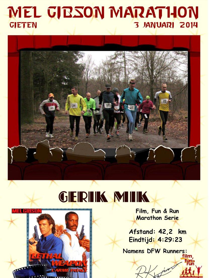 Mel Gibson Marathon
