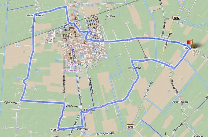 Ronde2, 50 mijl van Sint-Annen